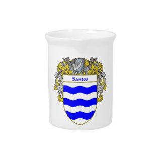 Escudo de armas de Santos escudo de la familia Jarrón