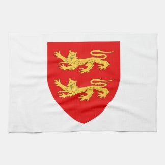 Escudo de armas de Sark Toallas De Cocina
