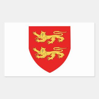 Escudo de armas de Sark Rectangular Altavoces
