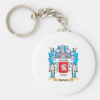 Escudo de armas de Scala - escudo de la familia Llavero Redondo Tipo Pin