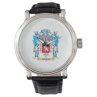 Escudo de armas de Scala - escudo de la familia Relojes