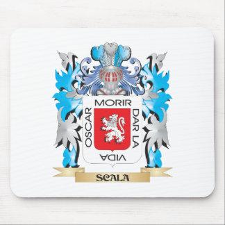 Escudo de armas de Scala - escudo de la familia Tapetes De Raton