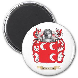 Escudo de armas de Schauer (escudo de la familia) Imán Redondo 5 Cm