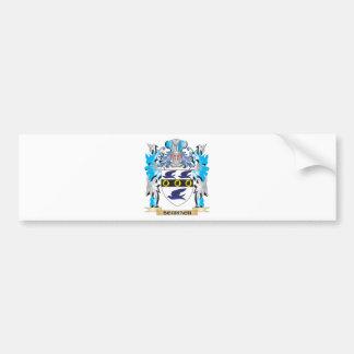 Escudo de armas de Schirach - escudo de la familia Etiqueta De Parachoque
