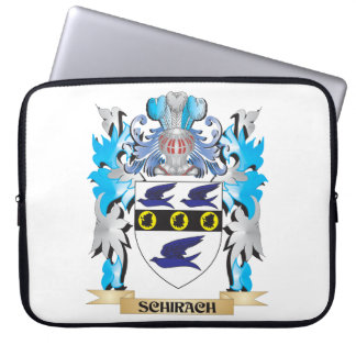 Escudo de armas de Schirach - escudo de la familia Fundas Computadoras