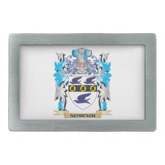 Escudo de armas de Schirach - escudo de la familia Hebilla De Cinturon Rectangular