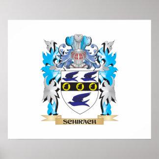 Escudo de armas de Schirach - escudo de la familia Posters