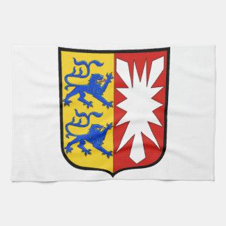 Escudo de armas de Schleswig-Holstein (Alemania) Toalla