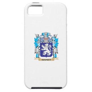 Escudo de armas de Schmidt - escudo de la familia Funda Para iPhone 5 Tough