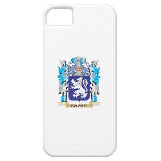 Escudo de armas de Schmidt - escudo de la familia iPhone 5 Fundas
