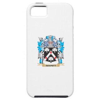 Escudo de armas de Schmitt - escudo de la familia iPhone 5 Carcasa