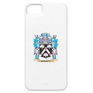 Escudo de armas de Schmitt - escudo de la familia Funda Para iPhone 5 Barely There