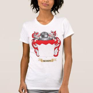 Escudo de armas de Schot (escudo de la familia) Camiseta