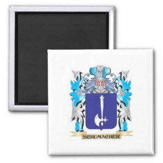 Escudo de armas de Schumacher - escudo de la Imán Cuadrado