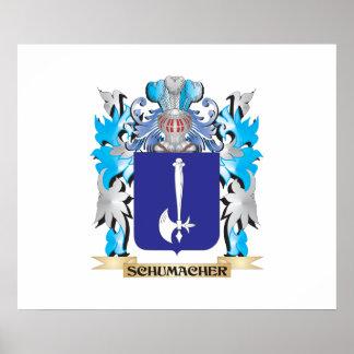 Escudo de armas de Schumacher - escudo de la Póster