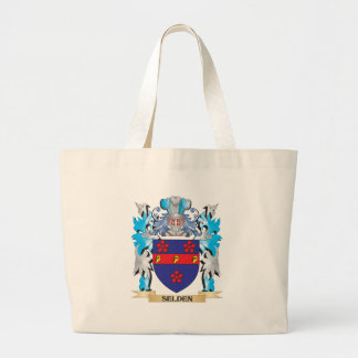 Escudo de armas de Selden - escudo de la familia Bolsa Tela Grande