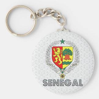 Escudo de armas de Senegal Llaveros Personalizados