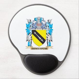 Escudo de armas de Shakespear - escudo de la Alfombrillas De Raton Con Gel