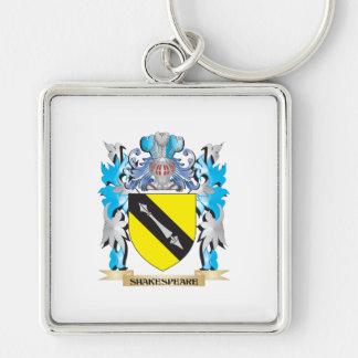 Escudo de armas de Shakespeare - escudo de la Llavero Personalizado