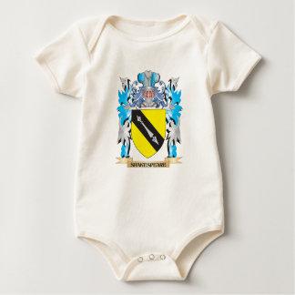 Escudo de armas de Shakespeare - escudo de la Trajes De Bebé
