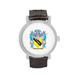 Escudo de armas de Shakespeare - escudo de la Relojes