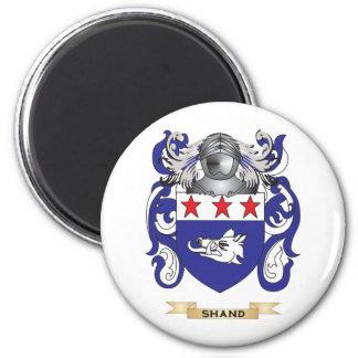 Escudo de armas de Shand (escudo de la familia) Imán Redondo 5 Cm