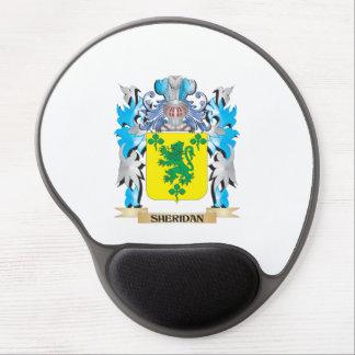 Escudo de armas de Sheridan - escudo de la familia Alfombrillas Con Gel