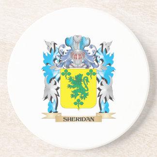 Escudo de armas de Sheridan - escudo de la familia Posavasos De Arenisca