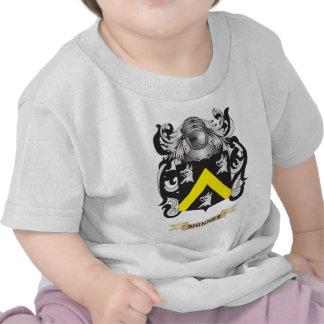 Escudo de armas de Shinner escudo de la familia Camisetas