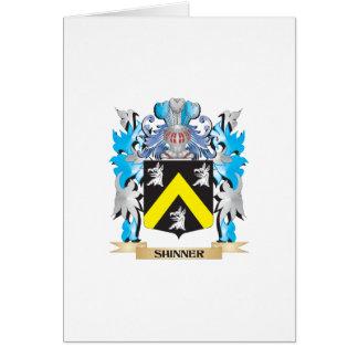 Escudo de armas de Shinner - escudo de la familia Tarjetas