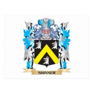 Escudo de armas de Shinner - escudo de la familia Postal