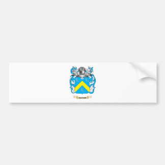 Escudo de armas de Shoop (escudo de la familia) Pegatina Para Auto