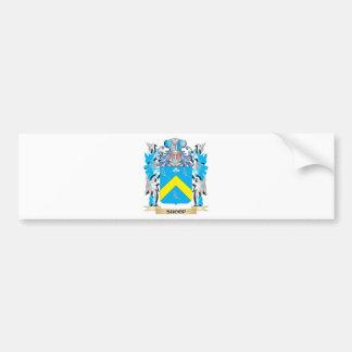 Escudo de armas de Shoop - escudo de la familia Pegatina Para Auto