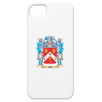 Escudo de armas de Sim - escudo de la familia iPhone 5 Protector
