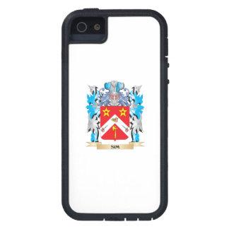Escudo de armas de Sim - escudo de la familia iPhone 5 Coberturas