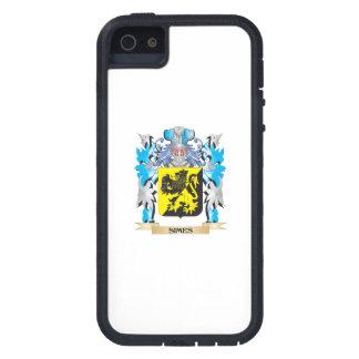 Escudo de armas de Simes - escudo de la familia iPhone 5 Case-Mate Fundas