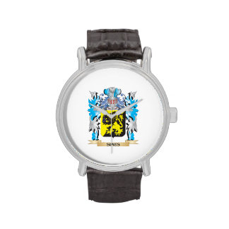 Escudo de armas de Simes - escudo de la familia Relojes De Mano