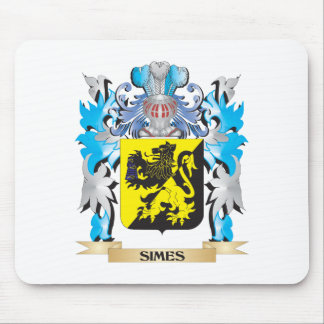 Escudo de armas de Simes - escudo de la familia Tapete De Raton