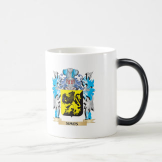 Escudo de armas de Simes - escudo de la familia Tazas De Café