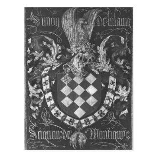 Escudo de armas de Simon de Lalaing Tarjetas Postales