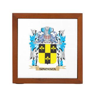 Escudo de armas de Simonsen - escudo de la familia