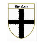 Escudo de armas de Sinclair/escudo de la familia Postales