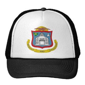 Escudo de armas de Sint Maarten Gorros