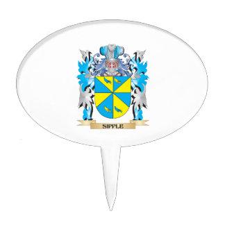 Escudo de armas de Sipple - escudo de la familia Decoración De Tarta