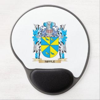Escudo de armas de Sipple - escudo de la familia Alfombrilla Gel