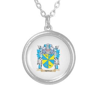 Escudo de armas de Sipple - escudo de la familia Pendiente Personalizado