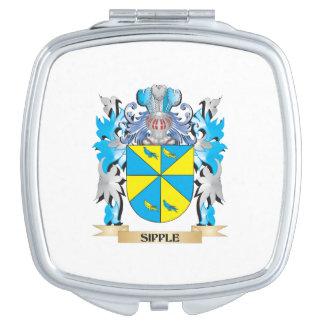 Escudo de armas de Sipple - escudo de la familia Espejo De Maquillaje