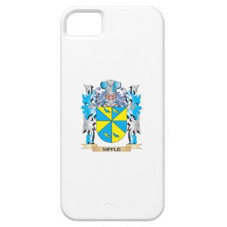 Escudo de armas de Sipple - escudo de la familia iPhone 5 Carcasa