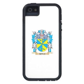 Escudo de armas de Sipple - escudo de la familia iPhone 5 Case-Mate Cobertura