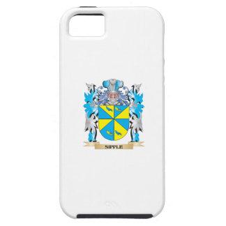 Escudo de armas de Sipple - escudo de la familia iPhone 5 Funda